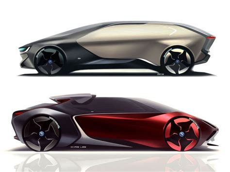 "Car Design Concepts : Art Center Graduate Envisions The Bmw ""i"" Of The Future"