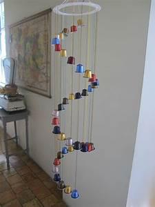 Fabriquer Un Carillon : que faire avec les capsules de caf de georges clooney bricole et casserole ~ Melissatoandfro.com Idées de Décoration