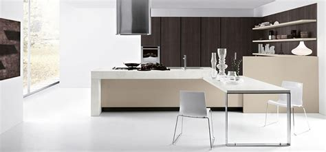 inspired contemporary kitchens  compositional freedom