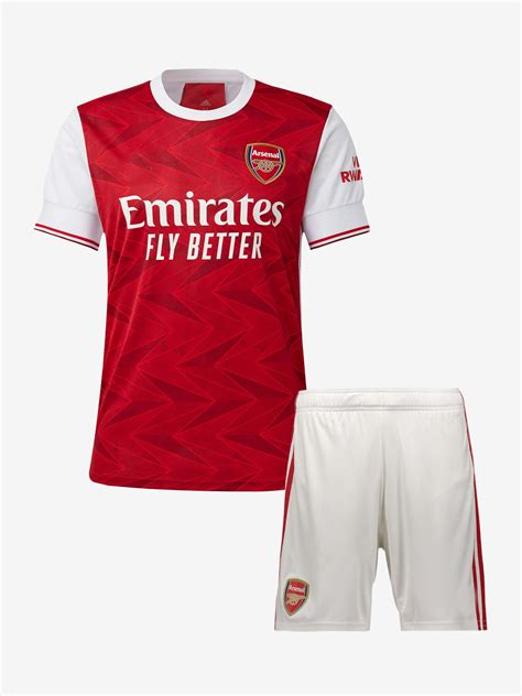 Arsenal Home Jersey And Shorts 20 21 Season Buy Online.