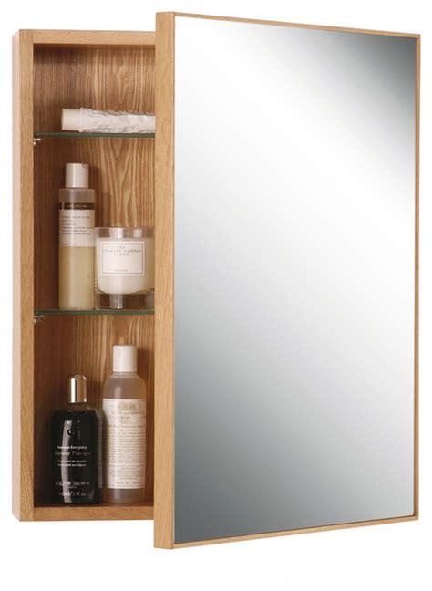 modern medicine cabinets wireworks oak slimline cabinet 550 modern