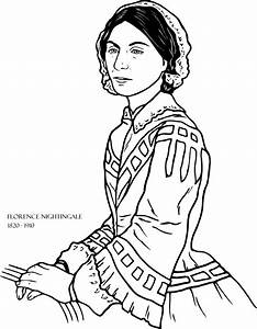 free coloring pages of florence nightingale With florence nightingale lamp template