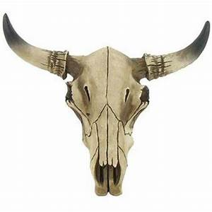 Decorative Cow Skulls