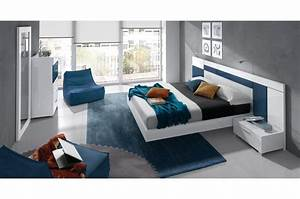 Beautiful Chambre Bleu Marine Et Rouge Contemporary