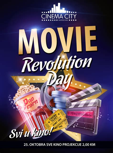 Svi u kino! Movie Revolution Day 25. oktobra u Cinema Cityju