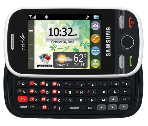 cricket launches affordable samsung messager touch technogog