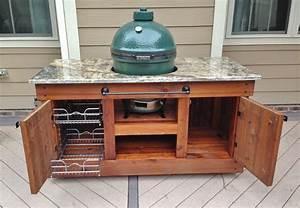 Big Green Egg Table -- Raleigh, NC