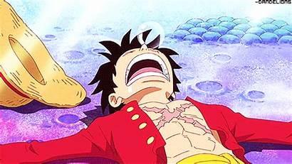 Luffy Monkey Piece Anime Gifs Sleep Innocent