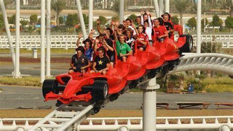 Show phone number(+971) 600 511115. Take a ride on the world's fastest rollercoaster at Ferrari World | Ferrari world, Theme park ...