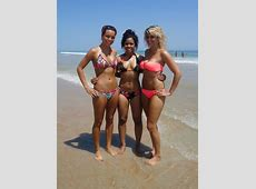 Maryland Cheerleaders Hit The Beach In Their Mostly