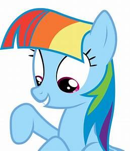 [MLP] Rainbow Dash With Twilight Mane by AnonimowyBrony on ...