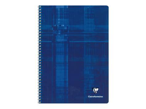 fourniture bureau bordeaux clairefontaine cahier spirale a4 100 pages petits