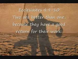 Bible Verses About Friendship - YouTube