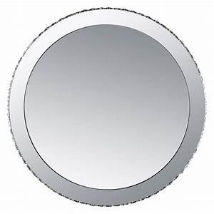 Runde Spiegel Mit Rahmen : runde led wandleuchte mit spiegel ~ Indierocktalk.com Haus und Dekorationen