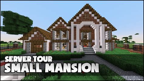 Kitchen Ideas For Minecraft - minecraft small mansion youtube