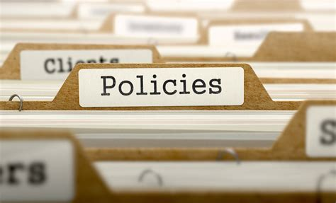 policy templates tech donut
