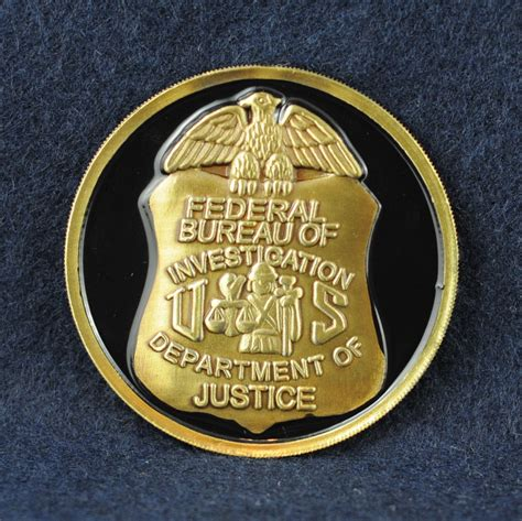 fbi bureau of investigation federal bureau of investigation fbi challengecoins ca