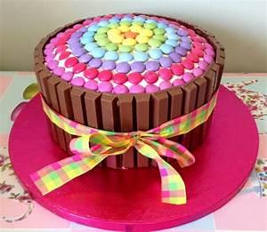 Smartie CakeBirthday Parties, Cake Ideas, Baking Ideas
