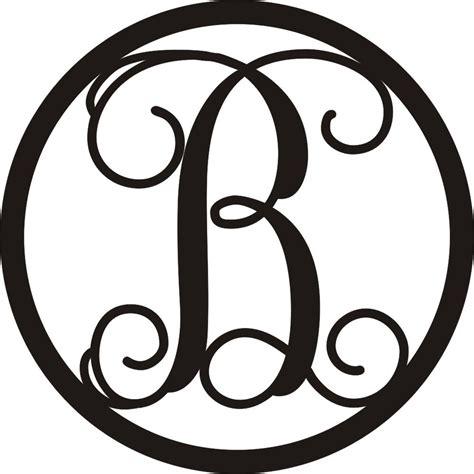 personalized embossed letter monogram metal wall art