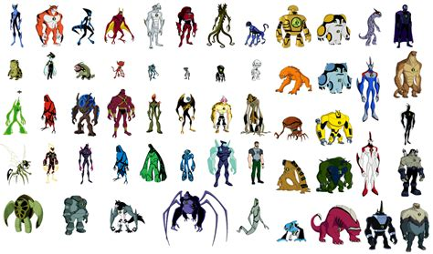 The Gallery For Ben 10 All Aliens Names