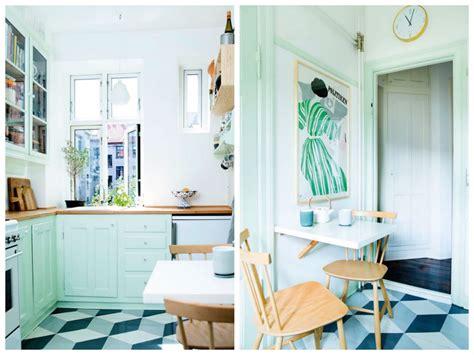 de cuisine facile cuisine verte mur meubles électroménager déco clematc