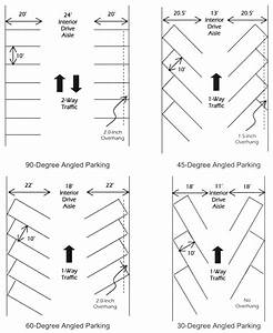 Driveway Parking Space Dimensions