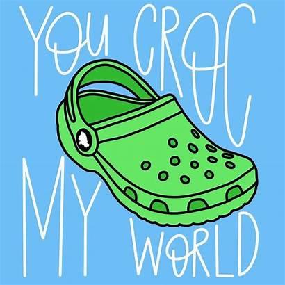 Croc Crocs Shoe Shoes Quotes Drawing Pun