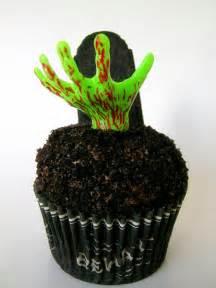 Zombie Halloween Cupcake