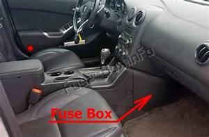 Fuse Box Diagram Pontiac G6  2005