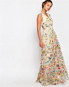 2016 mother39s day dresses outfit ideas fashion trend With robe longue fluide à fleurs