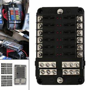 Jon Boat Fuse Box Setup : 12 way 24 fuse box circuit standard blade block holder car ~ A.2002-acura-tl-radio.info Haus und Dekorationen