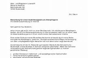 Bewerbung Zur Ausbildung : bewerbung altenpfleger in ausbildung sofort download ~ Eleganceandgraceweddings.com Haus und Dekorationen