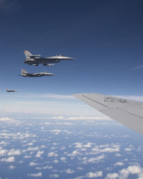 Two F-16 Fighting Falcons From The 162nd Fighter Wing