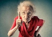 Image result for pic cranky old lady