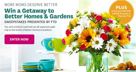 bhg sweepstakes better homes and gardens sweepstakes better homes and