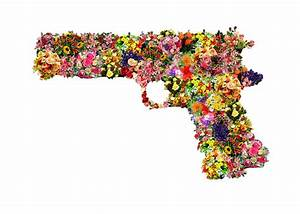 transparent flower gun | Tumblr