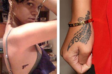 rihanna rihanna tattoos  meanings