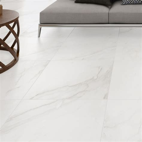 Oporto Carrara Glazed Porcelain Wall/Floor Tile