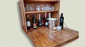Wall bar cabinet creator creations for What kind of paint to use on kitchen cabinets for what is mounted wall art