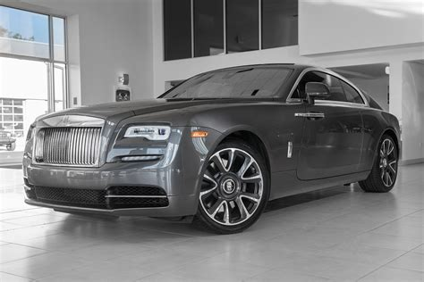 New 2017 Rolls-royce Wraith 2dr Car In Parsippany