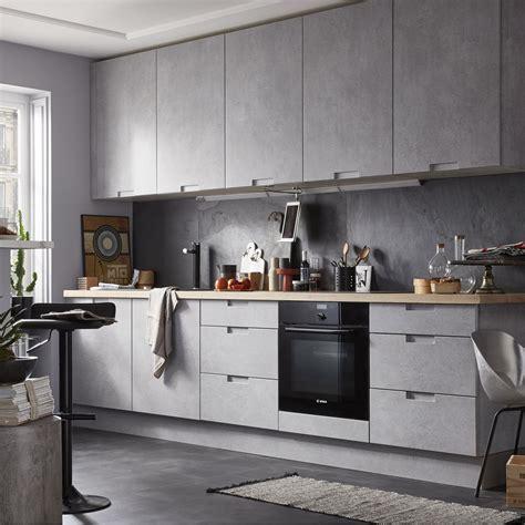tarif cuisine leroy merlin meuble de cuisine décor béton delinia berlin leroy merlin