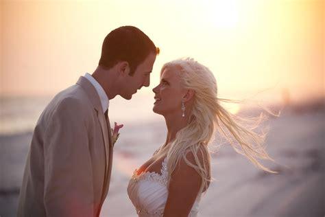 Florida Sunset Beach Weddings