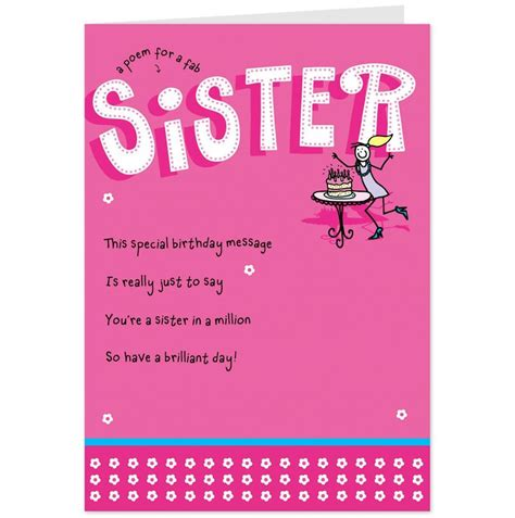 birthday cards  sister sister birthday quotes happy