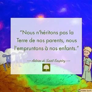 Citation  Antoine de SaintExupéry