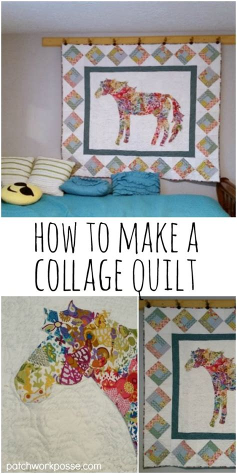 how to quilt a quilt fabric collage quilt how to make one