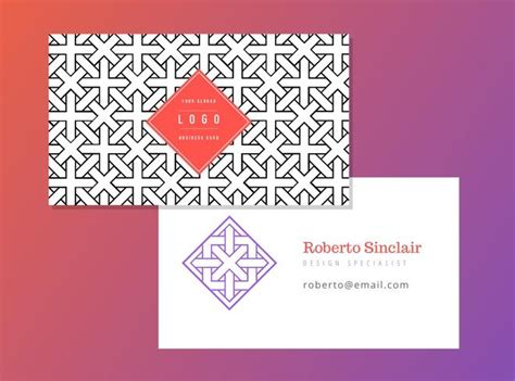 Free Geometric Business Card Vector Template Business Cards Size Templates For Photoshop Beauty Salon Samples Uk Printing Window Cleaning Cheap Square Instant Juice Plus Visiting Online Making
