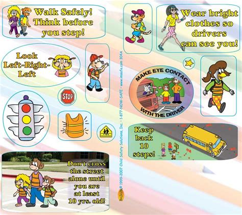 you may want to read this pedestrian safety for preschoolers 859 | 6 3040 Ped Sticker Sheet