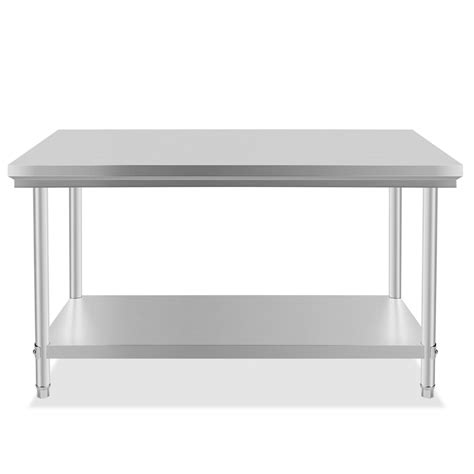 30 x 48 stainless steel table stainless steel commercial kitchen work prep table 30 quot x
