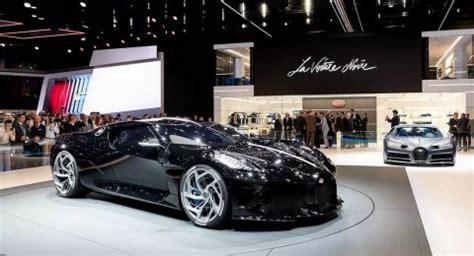 Bugatti La Voiture Noire And Divo - Supercars Gallery