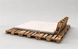 Europaletten Bett 140x200 : palettenbett bauen ganz einfach hier 2 praktische varianten diy pinterest ~ Orissabook.com Haus und Dekorationen